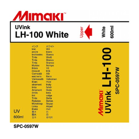 Чернила LH-100 UV LED White, пакет 600 мл