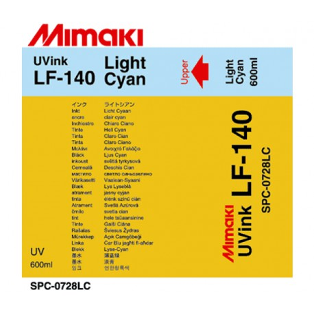 Чернила LF-140 UV LED LightCyan, пакет 600 мл